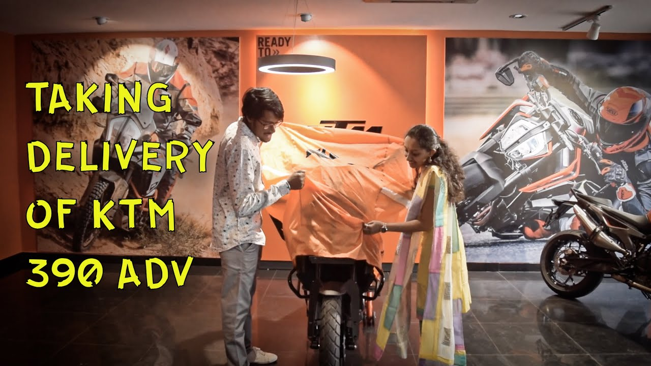Taking delivery of My Friend's KTM 390 Adventure!!! Bangalore Subscribers Meetup