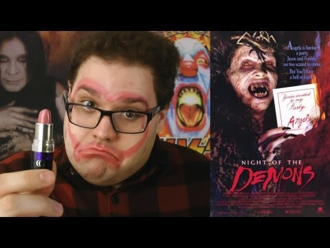 Night of the Demons (1988) – Blood Splattered Cinema (Horror Movie Review)