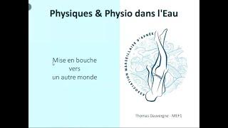 AMA - Physique et Physio dans l'eau