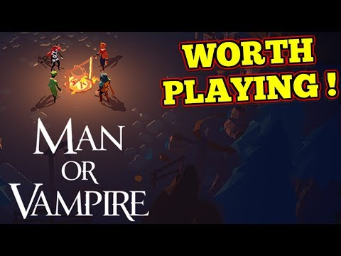 Unique Experience ! : Man Or Vampire
