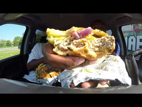 Food Exchange Food Review!!! The BIG Baby Burger!! 😳