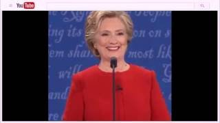 In the Feed: Hillary Clinton's Mid-Debate Shoulder Shimmy