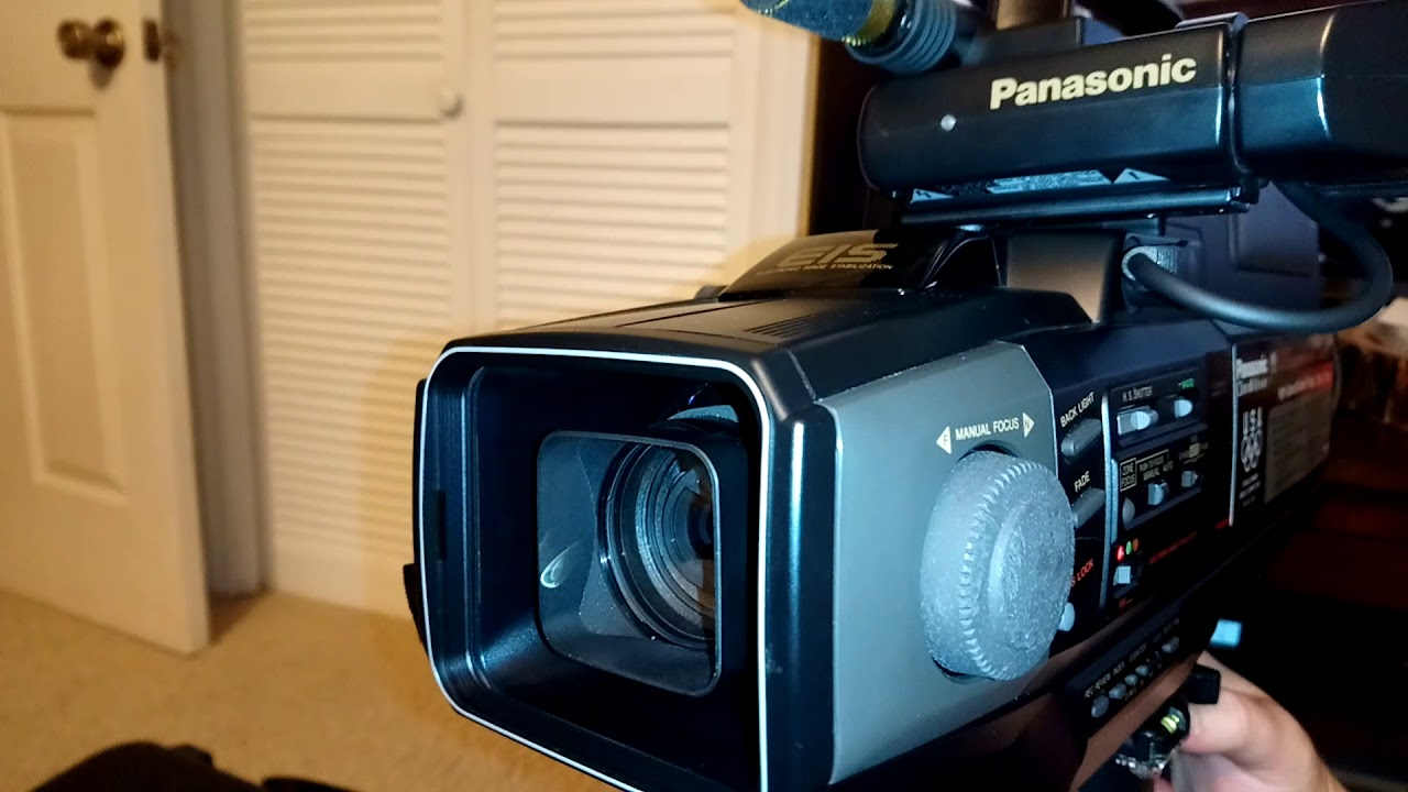 Panasonic Pv 460d Vhs Camcorder From 1988 Eis System Is Super Cool Youtube