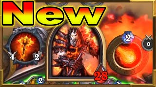 Hearthstone: Quest Huge Taunt Warrior It's Invincible! | Armagedillo |  Descent of Dragons | Wild