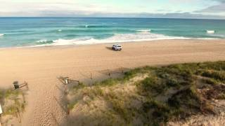 Trigg Beach by Drone (Morning Glory)