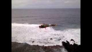 rescue operation at la roche qui pleure, gris gris (watch in 480p minimum)
