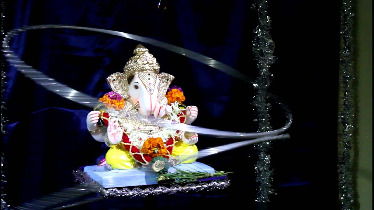 2011 ganapati decoration by mandal family