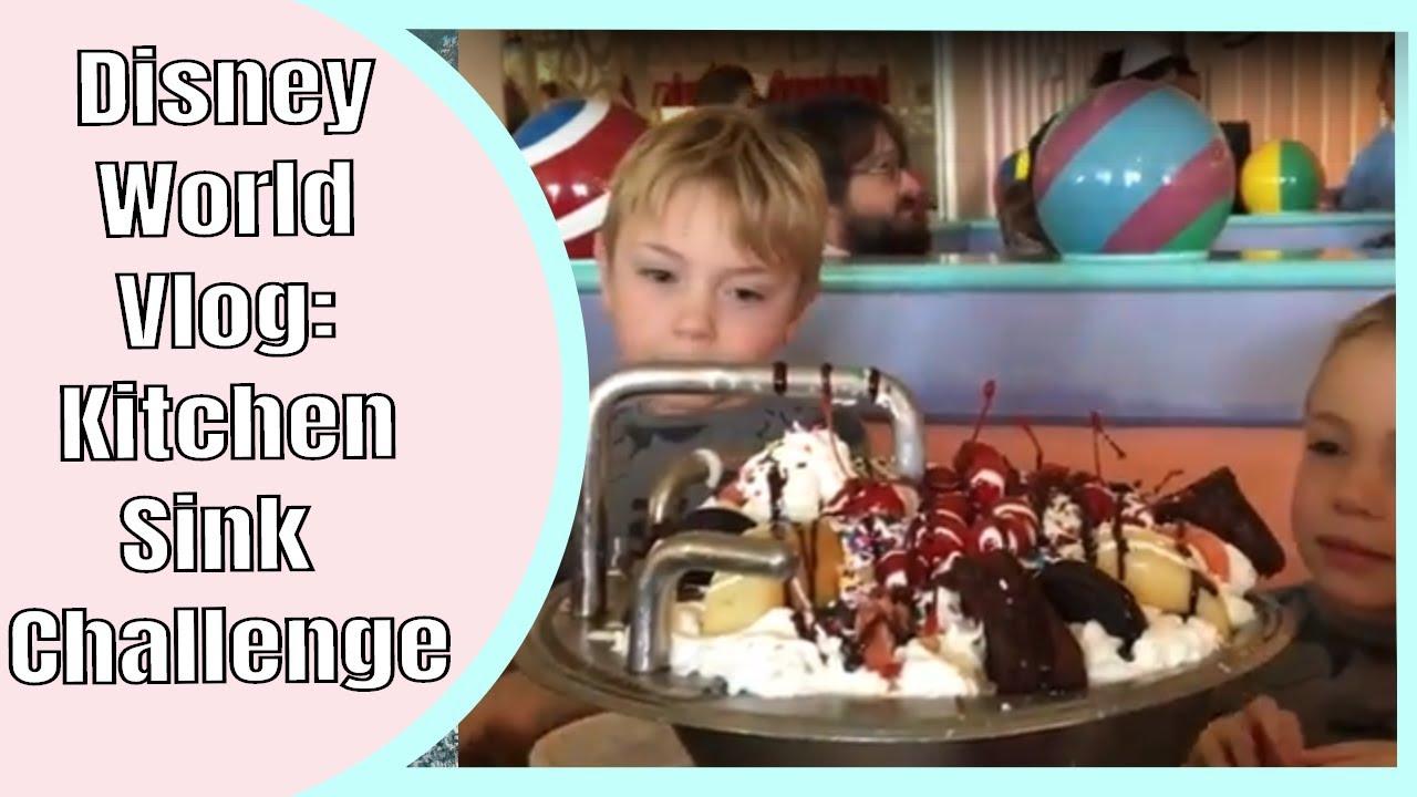 Disney Kitchen Sink Challenge