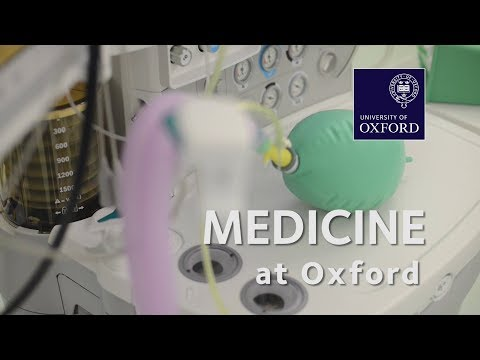 Medicine at Oxford University