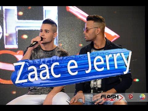 Zaac e Jerry (Bum Bum Granada) e Dançarino Henry Netto Programa Flash Minas SBT