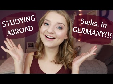 I'm Studying Abroad in Germany!