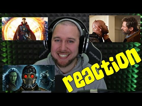 Wolverine 3, Guardian of the Galaxy 2 and Doctor Strange NEW MOVIE TRAILER REACTIONS!