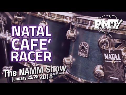 NAMM 2018 | New Natal Kits for 2018 Inc new Cafe Racer