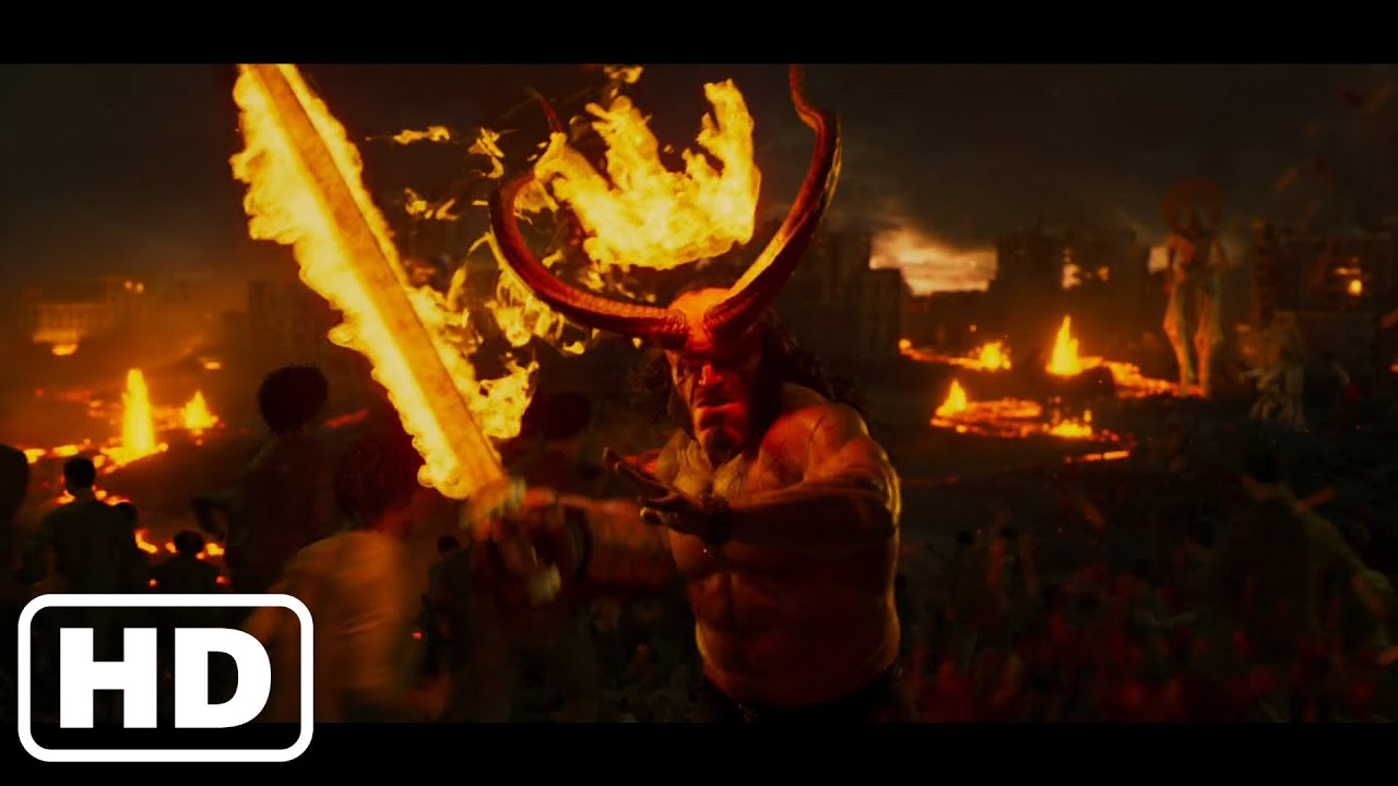 """Download Helboy 2019 - Hellboy becomes """"The Destroyer of All things"""" - Final Battle Scenes"""