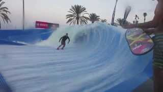 New FlowBarrel Sol Wave House - Mallorca Magaluf Spain 2012 - Irish GoPro Lads