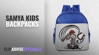 Best Samya Kids Backpacks [2018]: Funny Sport Baseball Anger Boy Backpacks RoyalBlue One Size Kids