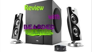 cyber acoustics 3602 speakers product review