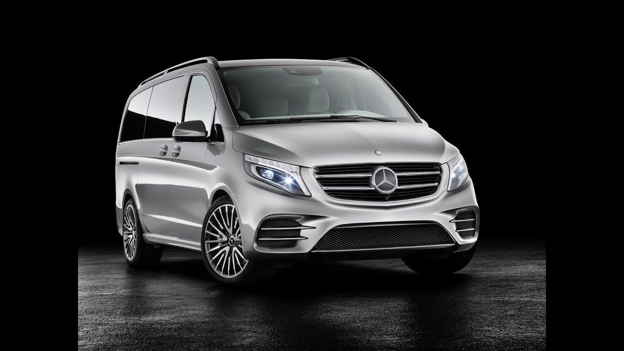 Mercedes Benz Reveals Concept V Ision E Plug In Hybrid Van