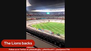 South Africa 'A' v Lions build up