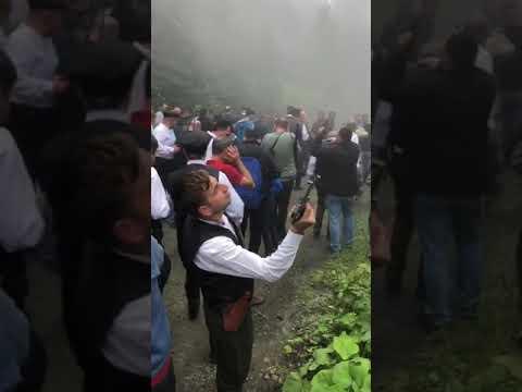 Trabzonda silah 2 silah nasıl atılır Mauzer ve barabelli atışları adeta gerçek P