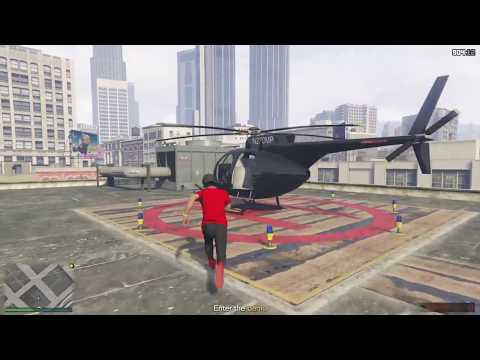 The Pacific standard heist (How To Get That helicopter)