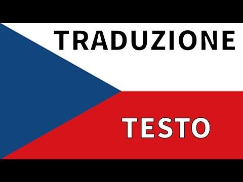 Inno REPUBBLICA CECA TRADUZIONE + TESTO Italiano   Kde domov můj