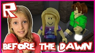 SCARY SCARY Before the Dawn | Roblox with ronaldOMG