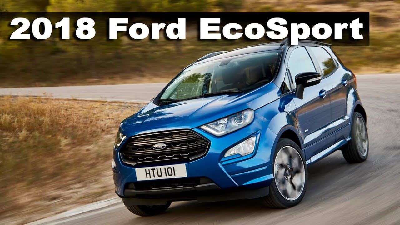 new ford ecosport 2018 european version review youtube. Black Bedroom Furniture Sets. Home Design Ideas
