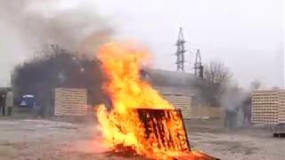 видео Огнетушитель углекислотный ОУ-20 Ярпож