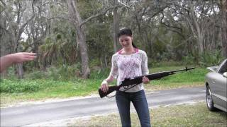 Drillmaster product review- the combat training aids springfield m14 with chelsea holliday