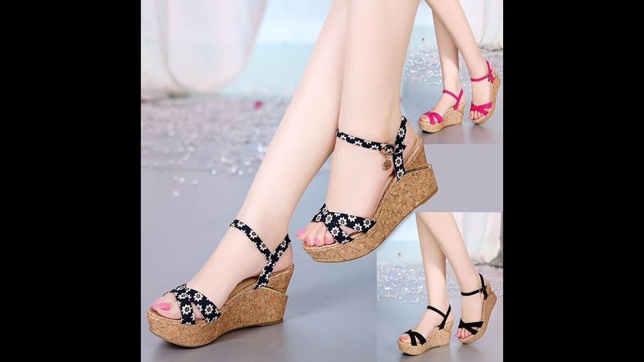 girl's For Flat 2018 Heel Festival Item women's Sandals Online buy Collection High Footwear WDHbEIY9e2