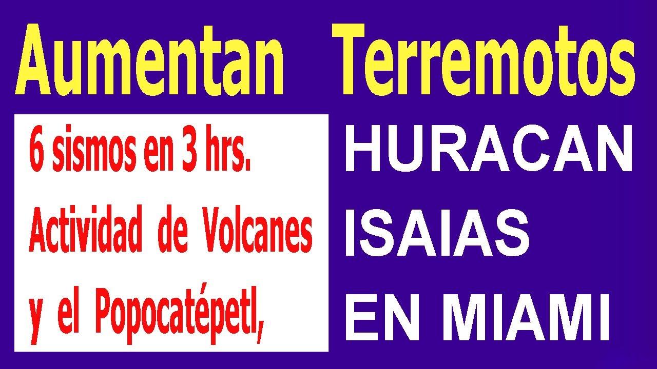 6 sismos en menos de 3 hrs. Aumentaran terremotos Actividad de Volcanes y el Popocatépetl,  Hyper333
