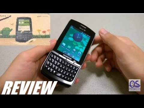 Retro Review: Samsung Replenish - Eco Green Smartphone!