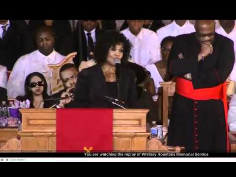 Don't Cry & Yes Jesus Loves Me by CeCe Winans (Whitney Houston's Homegoing)