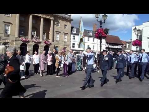 The Annual Newark On Trent Battle of Britain Memorial Parade