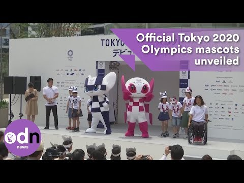 Official mascots for the Tokyo 2020 Olympics unveiled