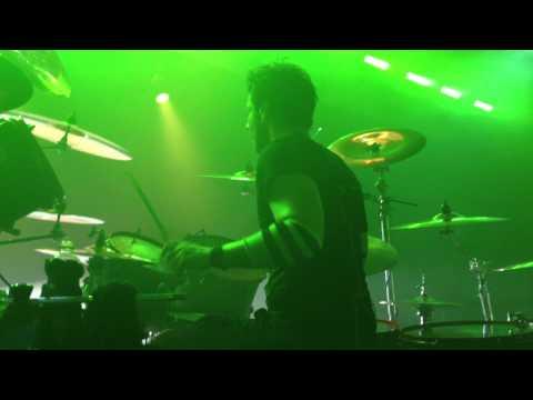 """Alice Cooper-GLEN SOBEL """"Feed My Frankenstein"""" Drum Cam 2013"""