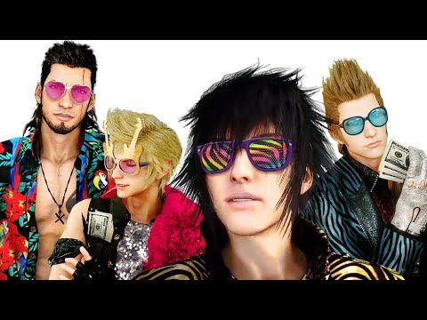 Final Fantasy XV Funny Glitches Moments YouTube