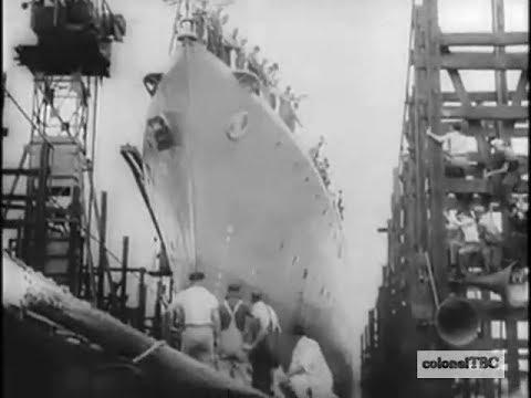 Australian destroyer HMAS Bataan (I91) launched - 15 January 1944