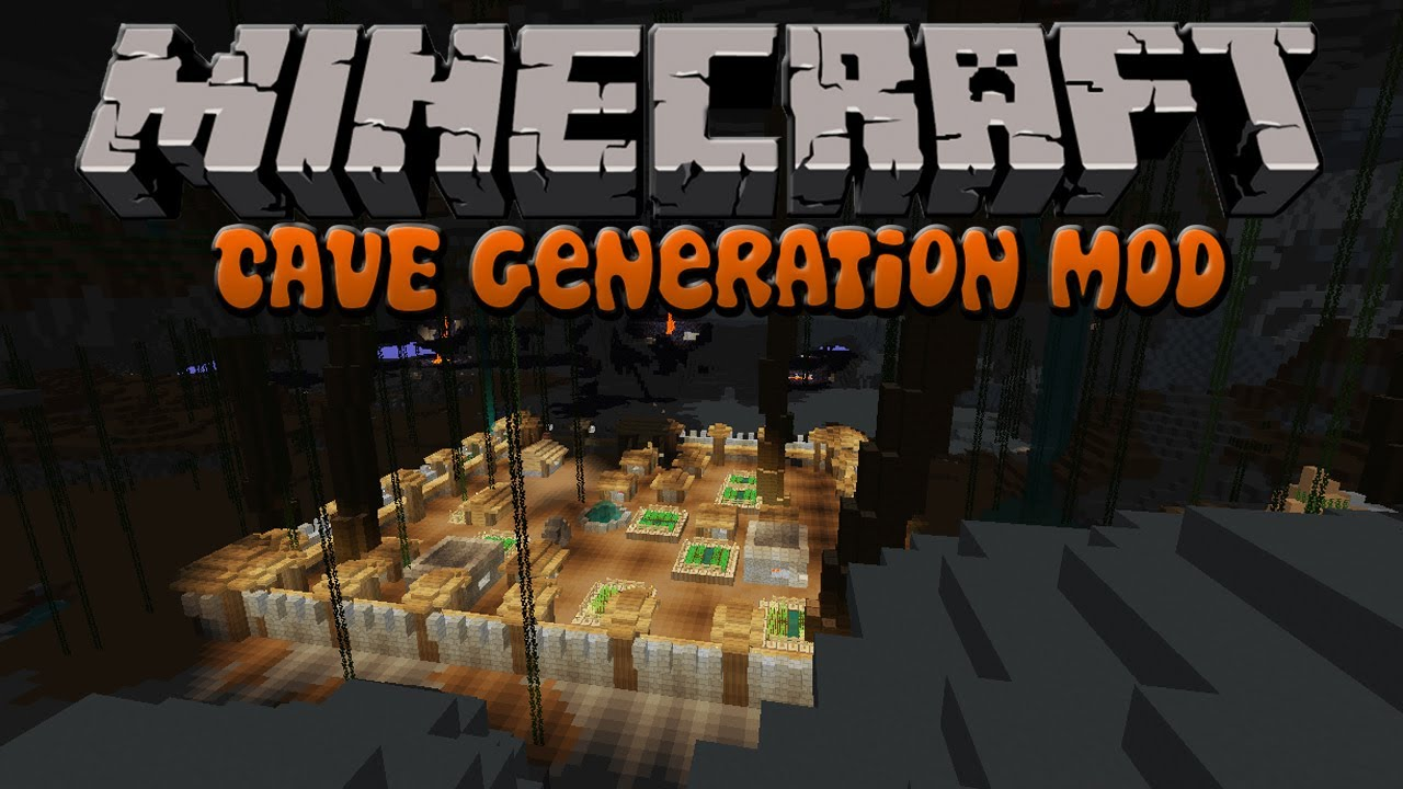 Cave-Gen Mod | Minecraft Mod Review 1 4 7
