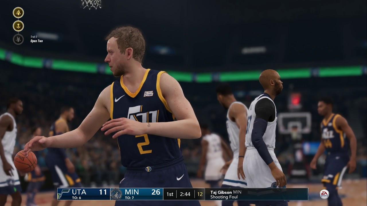 e6de572892ec NBA Live 19- Utah Jazz vs Minnesota Timberwolves Gm.51 (Update 1.11 ...