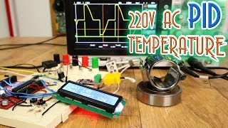 AC 220V Heater Temperature PID and TRIAC control