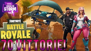 FORTNITE in LIVE! 70 VITTORIE! NUOVA HAUT! (Con Kekkobomba) Battle Royale ITA