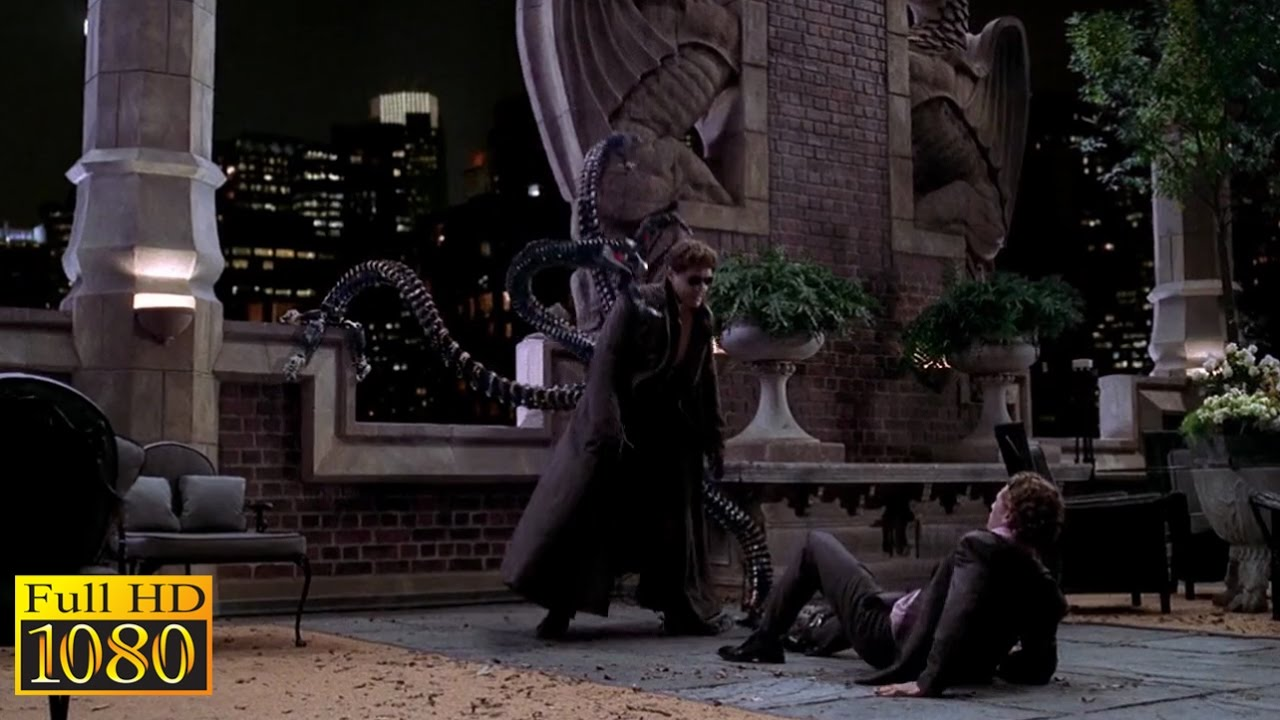 Download Spider Man 2 (2004) - Doctor Octopus and Harry Osborn Conversation Scene (1080p) FULL HD