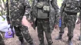 Ополченцы Уничтожили за 15 минут Колонну ВСУ Украина Донбасс Война АТО 2015
