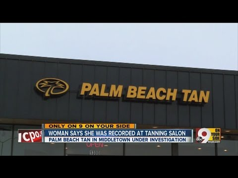 Woman Says She Was Recorded At Tanning Salon