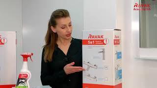 Обзор набора смесителей Ravak 5 в 1 Termo для ванны