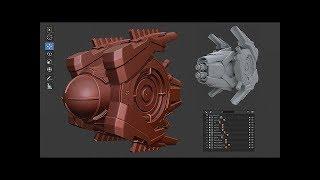 TRAILER - Experto en Modelado de Assets 3D HARD SURFACE y Blender 2.8