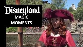 Disneyland -6/14/18 Magic Moments with Captain Redd and other  Disney Characters