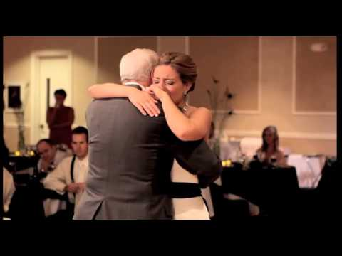 Bride's Touching Father-Daughter Dance - Without Her Deceased Father